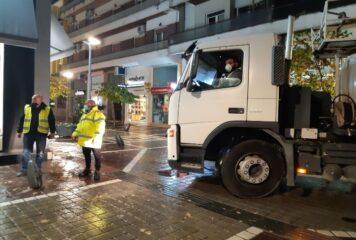 Ιωάννινα: Πλύσιμο κι απολύμανση σε δρόμους και πεζόδρομους