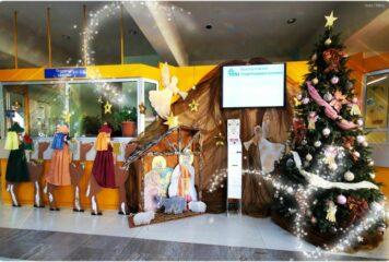 Στα γιορτινά ντύθηκε το Πανεπιστημιακό Νοσοκομείο Ιωαννίνων σε πείσμα των καιρών