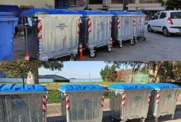 139 νέοι κάδοι απορριμμάτων στο Δήμο Ηγουμενίτσας