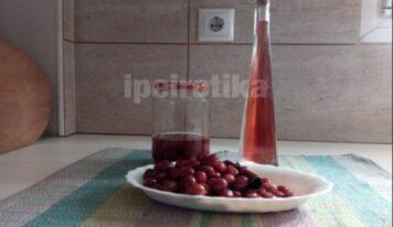 Μια εύκολη συνταγή για λικέρ από κράνα