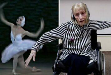 Η συγκλονιστική στιγμή που μπαλαρίνα με Αλτσχάιμερ ακούει τη «Λίμνη των Κύκνων» και αρχίζει να θυμάται