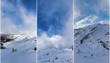 Πανέμορφες εικόνες: Τα πρώτα χιόνια στον Σμόλικα (βίντεο)