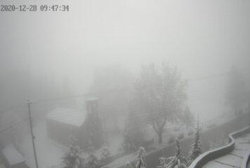 Χιονίζει τώρα στο Μέτσοβο – Δείτε live εικόνα