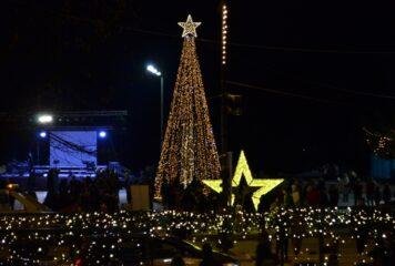 Ιωάννινα: Φωταγώγηση του χριστουγεννιάτικου δέντρου με live streaming!