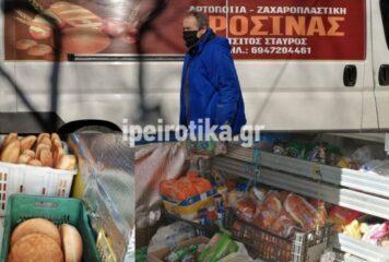 Ιωάννινα: «Μεταφέρει» κάθε μέρα το φούρνο του στα έρημα χωριά και μας συγκινεί