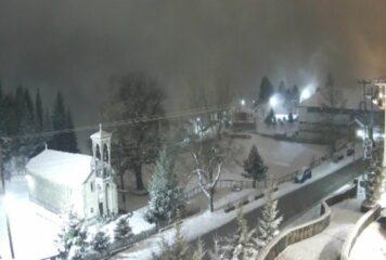 Το έστρωσε στο Μέτσοβο – Δείτε live εικόνα!