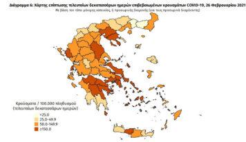 ΕΚΤΑΚΤΟ: Σε lockdown η Θεσπρωτία