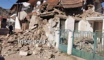 Μετασεισμός στην Ελασσόνα: Έπεσαν βράχοι των Μετεώρων