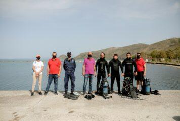 Μια σημαντική πρωτοβουλία: Ολοκληρώθηκε ο καθαρισμός στο λιμάνι της Σαγιάδας