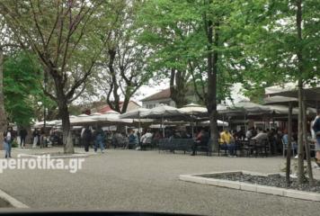 Γιάννενα: Μεγάλη ανταπόκριση των πολιτών στο άνοιγμα της εστίασης