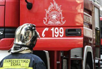 Μεγάλη φωτιά κοντά στη Βήσσανη Πωγωνίου