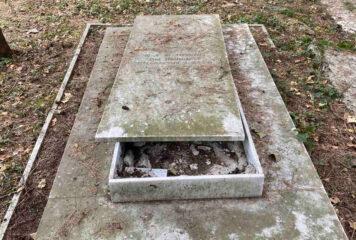 Γιάννενα: Βανδάλισαν για δεύτερη φορά το Εβραϊκό νεκροταφείο (φωτογραφίες)