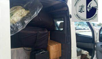 Βίντεο: Η στιγμή που αστυνομικοί της Θεσπρωτίας βρίσκουν 256 κιλά κάνναβης