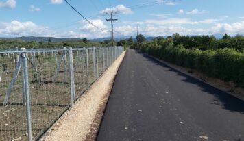 Άρτα: 6 χιλιόμετρα ασφαλτόστρωσης σε Ρόκκα και Καλαμιά